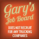 CDL Drivers - Gary's Job Board by CDL College