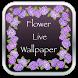 Sexy Flower HD Live Wallpaper by TarZ Apps