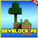 SkyBlock Pe Minecraft PE Map by Nevergreen soft