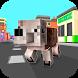 Cube City: Dog Simulator 3D by GamesArcade