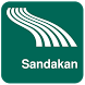Sandakan Map offline by iniCall.com