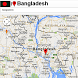 Bangladesh map by Borgo Map