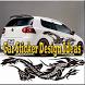 Car Sticker Design Ideas by delisa