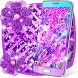 Purple glitter live wallpaper by High quality live wallpapers
