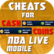Cheats For Nba live Mobile Prank! by Proappsforyou Dev