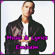 Eminem Songs & Lyrics by Bakureh