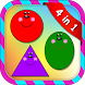 Shapes and Colors for kids by Balloons burst baby games