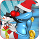 Happy Oggy Snow Ski Christmas by SupDroider