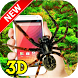 Spider on Screen 3D Pro Spider in Phone funny Joke by super games play123