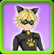 Dress up Cat Noir by ladybug and cat noir dress up