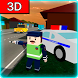 Traffic Cop Simulator in Craft World 3D by Opana Games