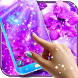 Purple live wallpaper by High quality live wallpapers