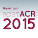 Reunión POST ACR 2015 by evenTwo