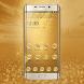 Golden business luxury diamond series theme by rxua