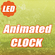 LED Animated Digital Clock LWP by new wallpaper