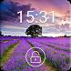 Lavender - Z Lock Screen Theme by Z Lock Screen Team