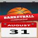 Eurobasket 2017 Calendar by Zingas Studios