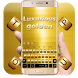Luxurious Golden Keyboard by Designer Superman