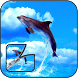 dolphin zipper lock screen by nssigi