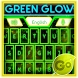 GO Keyboard Green Glow Theme by Inner Works Studios