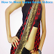 How to Wear Saree Guide Videos by Maha Mandir