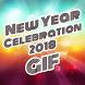 New year celebration GIF 2018 by Creta Mobile Apps