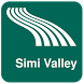 Simi Valley Map offline by iniCall.com