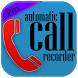 Automatic Call Recorder free by One app