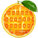 Fresh Orange Typewriter by The Best Android Themes