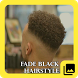 Fade Black Hairstyle by CleverDroid