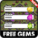 Cheats for Clash of Clans for free gems prank ! by labanda