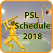 PSL 2018 Schedule App – Squad & Songs For PSL 2018