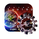 planet earth fire ice keyboard interstaller space by Keyboard Theme Factory