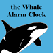 Whale Alarm Clock by Skateboarding Alice