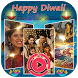 Happy Diwali Video Maker 2017 - Photo To Video by Black Orange Corner