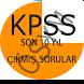 Kpss Son 10 Yıl Çıkmış Sorular