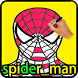 learn to draw spider man by said