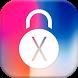 Lock Screen Phone X - Lock Screen style OS 11