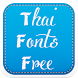 Thai Fonts Free by Fancy Font For U