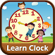Kids Learn Analog Clock by river studios