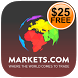 Markets.com Free $25 account by Markets limited