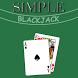 Simple Blackjack by Joey Cote