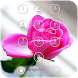 Pink Rose Lock Screen Theme by shree maruti plastic