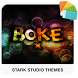 BOKE X xperia Theme by Stark Studio