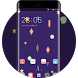 Neat Theme Cartoon Launcher Purple Wallpaper by Mobo Theme Apps Team