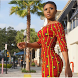 Bodycon Ankara Dresses by itawin
