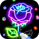 Learn To Draw Glow Flower by Art Studio Appz