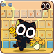 Black Cat Keyboard Theme-Legend of Luoxiaohei by Cheetah Keyboard