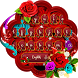 Red Roses Keyboard Theme by Super Cool Keyboard Theme