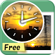 Analog Photo Clock Widget Free by hiwazero